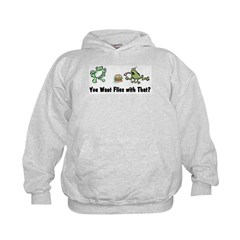 Want Flies With That? Hoodie