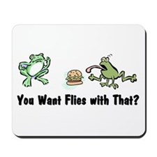 Want Flies With That? Mousepad