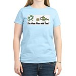 Want Flies With That? Women's Pink T-Shirt