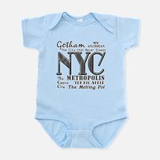 New York City with Nicknames Infant Bodysuit