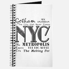 New York City with Nicknames Journal