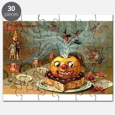 Halloween Vintage Retro Classic Old Art Designs Pu