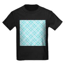 retro design checkered turquoise T-Shirt