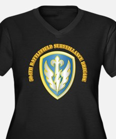 SSI - 504th Battlefield Surv Bde with Text Women's