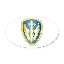 SSI - 504th Battlefield Surv Bde Oval Car Magnet