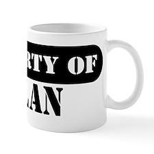 Property of Nolan Mug