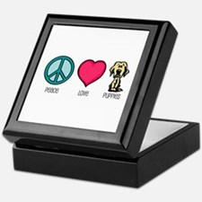 Peace Love & Labs Keepsake Box