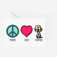 Peace Love & Labs Greeting Cards (Pk of 10)