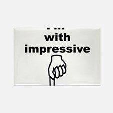 Unique Well hung Rectangle Magnet (100 pack)