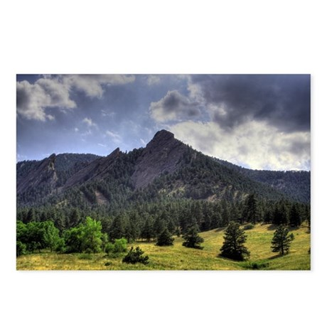 Flatirons - Postcards (Package of 8)