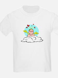 Valentine Cherub Kids T-Shirt