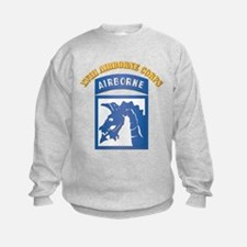 SSI - XVIII Airborne Corps with Text Sweatshirt