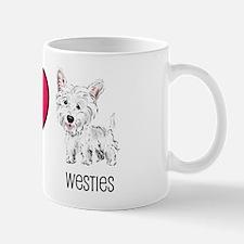 Peace Love & Westies Mug