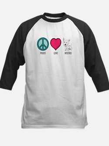 Peace Love & Westies Tee