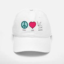 Peace Love & Westies Baseball Baseball Cap