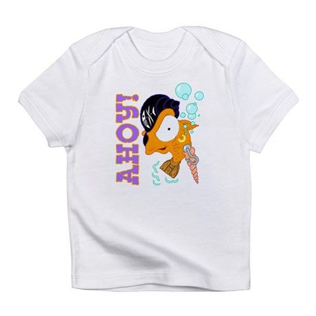 Ahoy! Pirate Fish Infant T-Shirt