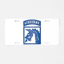 SSI - XVIII Airborne Corps Aluminum License Plate