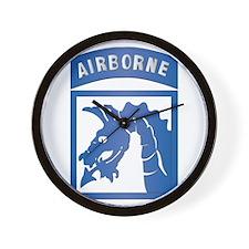 SSI - XVIII Airborne Corps Wall Clock