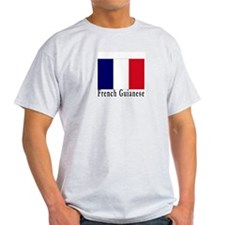 French Guiana Ash Grey T-Shirt