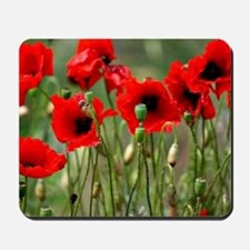 Poppy-Red Poppies Mousepad