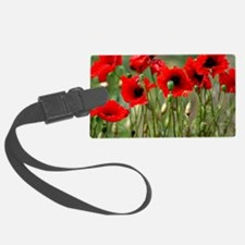 Poppy-Red Poppies Luggage Tag