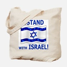 I Stand with Israel 3 Tote Bag