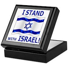 I Stand with Israel 3 Keepsake Box