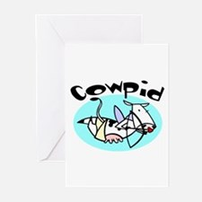 Cowpid (Cupid Cow) Greeting Cards (Pk of 10)