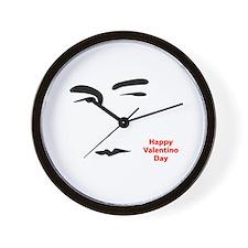 Happy Valentino Day Wall Clock