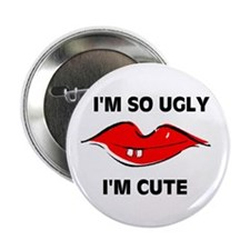 "I'M CUTE 2.25"" Button (10 pack)"
