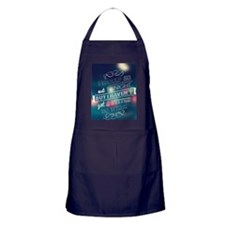 I would go out  ... Apron (dark)