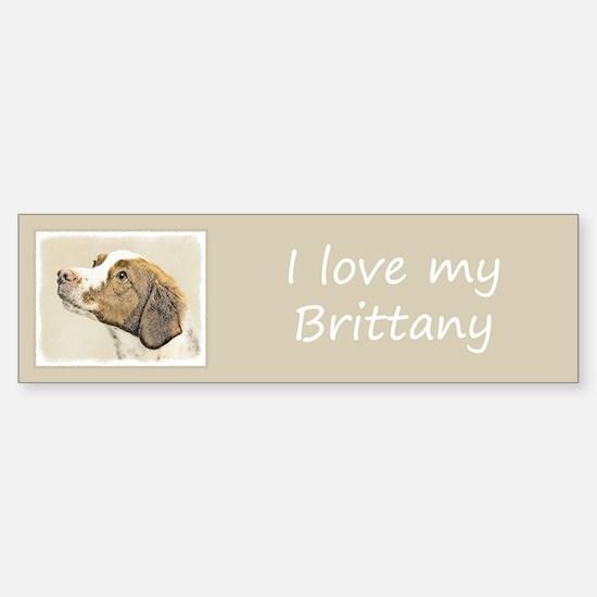 Brittany Sticker (Bumper)