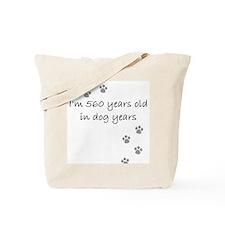 80 dog years 2-1.JPG Tote Bag