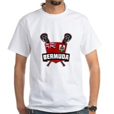Bermuda Lacrosse Flag Logo T-Shirt