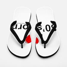 80s Porn Flip Flops
