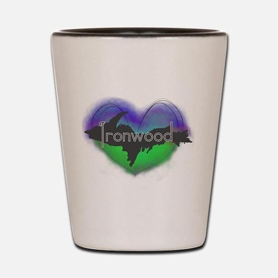 UP Aurora Ironwood Shot Glass
