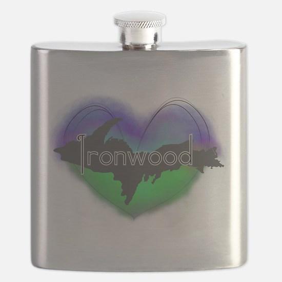 UP Aurora Ironwood Flask