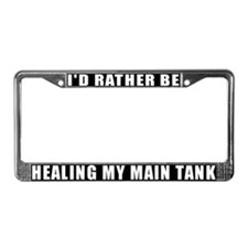 I'd Rather Heal The Main Tank License Plate Frame
