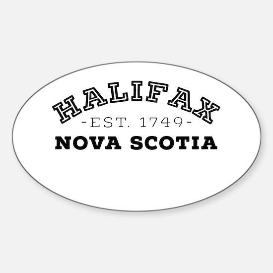 Halifax Nova Scotia Decal