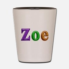 Zoe Shiny Colors Shot Glass