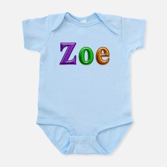 Zoe Shiny Colors Body Suit
