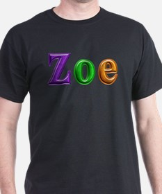 Zoe Shiny Colors T-Shirt