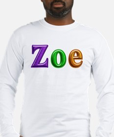 Zoe Shiny Colors Long Sleeve T-Shirt