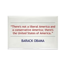 Obama Quote - Liberal/Conservative Magnet