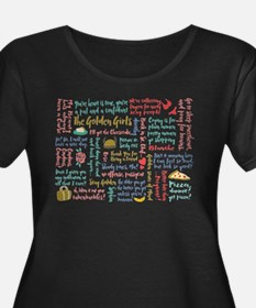 Golden Girls Quotes Plus Size T-Shirt