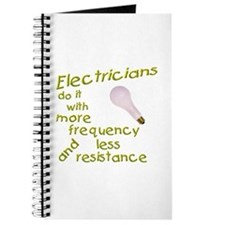Electicians T-shirts and Gift Journal