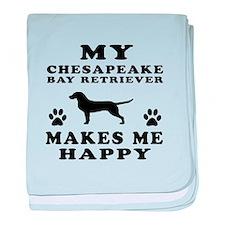 My Chesapeake Bay Retriever makes me happy baby bl