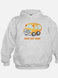 Personalized School Bus Hoodie