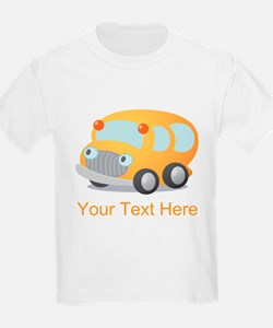 Personalized School Bus T-Shirt