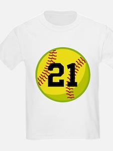 Softball Sports Personalized T-Shirt